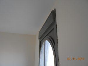 מרווח בין חלון לקיר